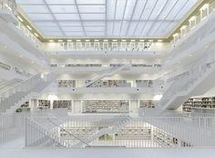 Stuttgart City Library by Yi Architects