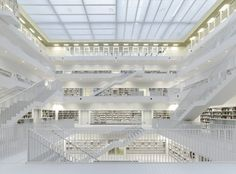 Stuttgart City Library / Yi Architects