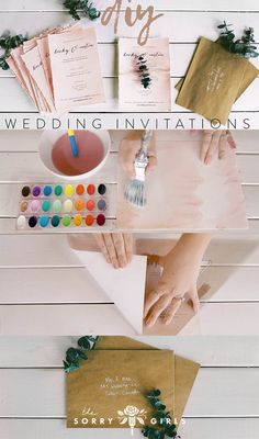 DIY Wedding/Event Invitations Follow us for more DIY!