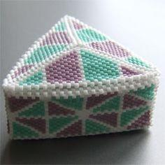 A little beaded box