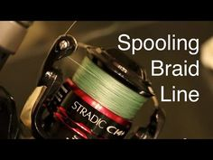 How to Spool a Spinning Reel with Braided Line | Fishbaci.com