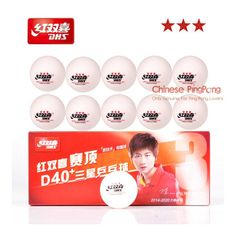 3 Star Table Tennis Balls 10/20 Pcs