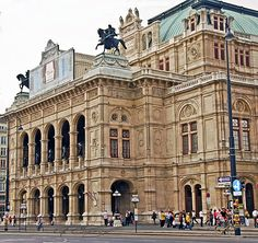 "Vienna Opera house I liked Vienna but it seemed very formal to me.  I saw ""Kiss Me Kate"" there."