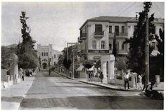 רחוב הרצל פינת רוטשילד 1920
