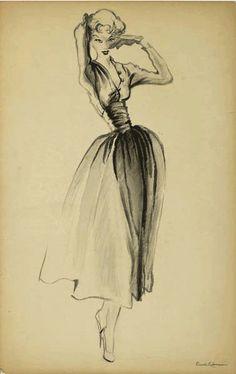 Desenho de Moda de Russell Lehman
