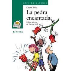 """""""La pedra encantada"""" Laura Baix, novel·la infantil. Literatura, llegir, books, llibres, libros."""