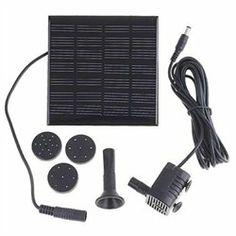 1.12W Solar Power Fountain Pond Pool Water Pump Garden Watering Tool Kit  $14.97
