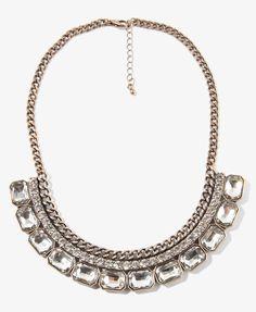 Bib necklace, $11 at F21