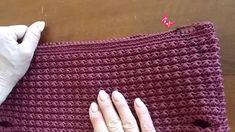 Bordo per nuovo look borsa -  Crochet - YouTube