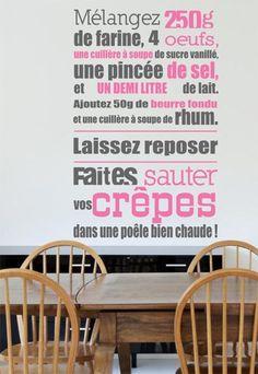 #Sticker #cuisine : Sticker Recette Crêpes de Stickerzlab