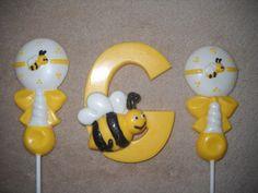 1 chocolate bee hive honeycomb sunflower 3x4 letter lollipops lollipop | sapphirechocolates - Edibles on ArtFire