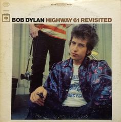 Album cover, Highway 61 Revisited by Bob Dylan, 1965.