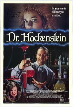 Doctor Hackenstein (1988)(Horror/Comedy)(with Anne Ramsey, great actress, the bad mama of The Goonies,R.I.P.)