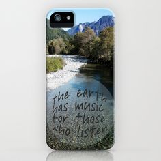 the earth has music iPhone Case by Sylvia Cook Photography - $35.00