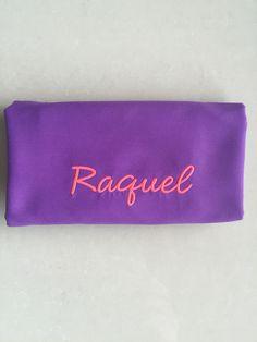 #ToallasQuickDry Tipografía Cluffhime Bold en color Rosa Neon.