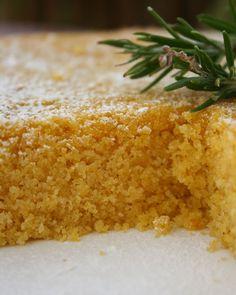 Lemon Polenta Olive Oil Cake