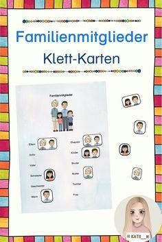 Diese Klett-Karten dienen dazu, die Begriffe rund um die Mitglieder einer Familie zu erlernen, anzuwenden und zu üben. Die geschieht auf spielerische Weise, indem Bilder von den einzelnen Mitgliedern zu den Begriffen geklettet werden. Ideal für Kinder mit schwachen Deutschkentnissen, DaZ-Lernende oder DaF-Lernende. Pictorial Maps