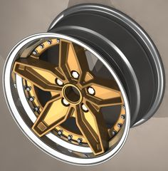 B-Star Strat wheel - 3 piece