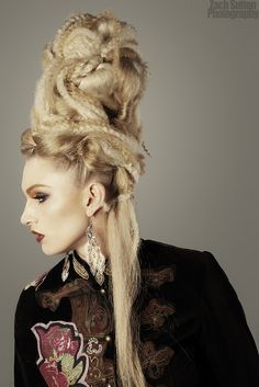 #extreme #beehive #hair