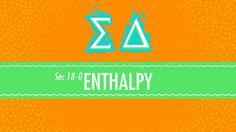 Enthalpy: Crash Course Chemistry #18 http://ift.tt/2xXKjmp شرح كمياء عامة كورس باللغة الأنجليزية كيمياء كيمياء كراش كورس Chemistry  Crash Course 1