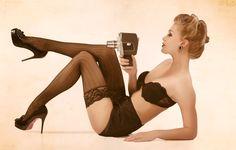 Kim Flink - Nick Mahar Photoshoot : Pin Up and Cartoon Girls
