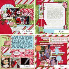 elf on the shelf scrapbook layouts | My Shelf Elf Wordart