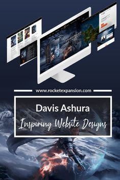 "Davis Ashura - An epic fantasy author known for the series' ""The Castes and Outcastes: An Asian Indian Epic Fantasy"" and ""The Chronicles of William Wilde.""  He's sold over 100K copies thus far and showing no signs of slowing down. Having discovered us by one of our other websites we built for another author, Davis boarded the Rocket to give his website a complete make-over, take a look!"