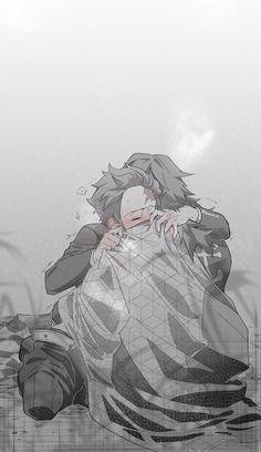 Slayer Meme, Demon Slayer, Hot Anime Boy, Anime Guys, Cute Drawings Of Love, Sasuke X Naruto, Demon Hunter, Cute Anime Couples, Gay Art