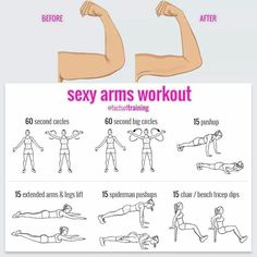 workout, exercise, fitness discovered by velvetcarnation Fitness Workouts, Ab Workouts, Fitness Goals, At Home Workouts, After Workout, At Home Workout Plan, Upper Arm Exercises, Arm Exercises Women, Tummy Exercises