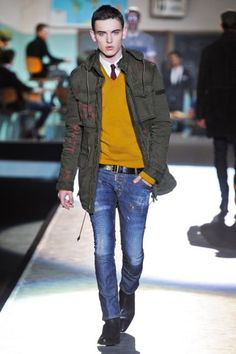 <3 the burst of colour | dsquared2 - fw2012