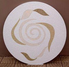 Mosaico – Espiral, curvas, e uma das mesas mais lindas que já fiz – Além da Rua Atelier
