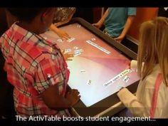 Promethean's ActivTable - I believe this will revolutionize the classroom.
