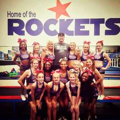 S5 in the new RCA practice uniforms with chris white from stingray allstars at choreography camp #LadySizzle #RCA
