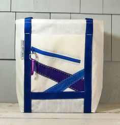8757a355a8e2 Nautical Gift Gym Bag Recycled Sail by HoistAwayBags Nautical Gifts