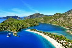 Views of Oludeniz Blue Lagoon (Turkey)