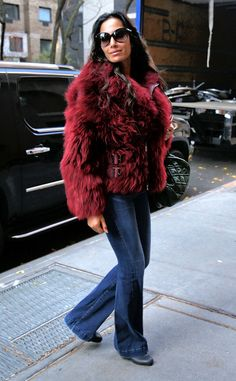 Padma Lakshmi from The Big Picture: Today's Hot Pics  All bundled up! The Top Chef stars visits The View in NYC.