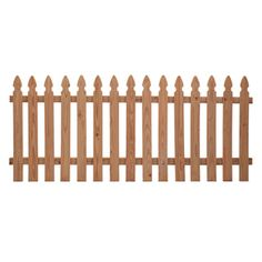 Western Red Cedar Gothic Wood Fence Panel (Common: 4-ft x 8-ft; Actual: 3.5-ft x 8-ft) @ Lowes 26.00