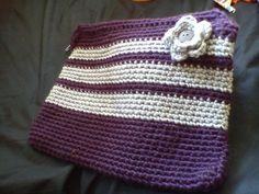 crochet: laptop case candelline's project