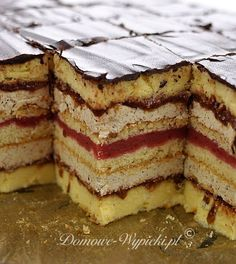 Sweet Recipes, Cake Recipes, Momofuku, Polish Recipes, Polish Food, Mini Foods, Food Cakes, How Sweet Eats, Trifle