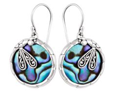 Earring with Paua Shell from UC Silver Bali