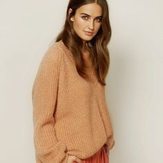 The perfect combo 🍊 #soakedinluxury #knit #riapullover #online #instore