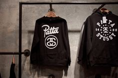 Take a look inside the newly opened Patta x Stussy New York City pop-up shop. Clothes Rail, Mens Fashion, Fashion Outfits, Who What Wear, Streetwear Fashion, New York City, Nice Dresses, Style Me, Street Wear