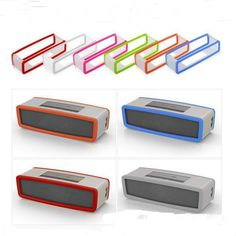 Factory Outlet Fashion Soft Silicone Case Cover For Bose SoundLink Mini 1/2 Bluetooth Speaker 9 Colors Price: USD 3.89 | United States