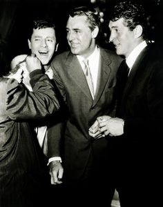 Dean and Jerry, with Cary Grant.