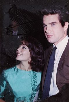 Natalie Wood and Warren Beatty at the premiere of To Kill a Mockingbird in 1962