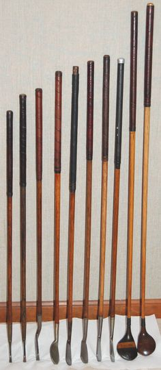 Surprising Selecting the Right Golf Club Ideas. Unutterable Selecting the Right Golf Club Ideas. Vintage Golf Clubs, New Golf Clubs, Golf Club Fitting, Golf Gadgets, Golf Tips, Golf Irons, Walking Canes, Golfers, Sticks