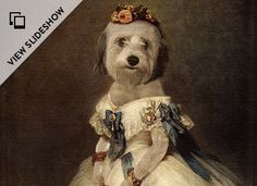 Master of the House- The Regal Beagle turns a photo of your dog/cat/hamster/newt/etc. into a printed imperial portrait. And the results are as stunning as they are absurdly hilarious.