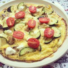 KITCHEN TESTED – Skillet Zucchini Mushroom Frittata