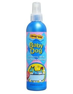 Crazy Dog Baby Powder Grooming Spray, 8oz *** Additional details @