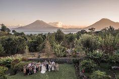 A gorgeous real wedding at Lake Atitlan #Guatemala, by @lopezperezphoto